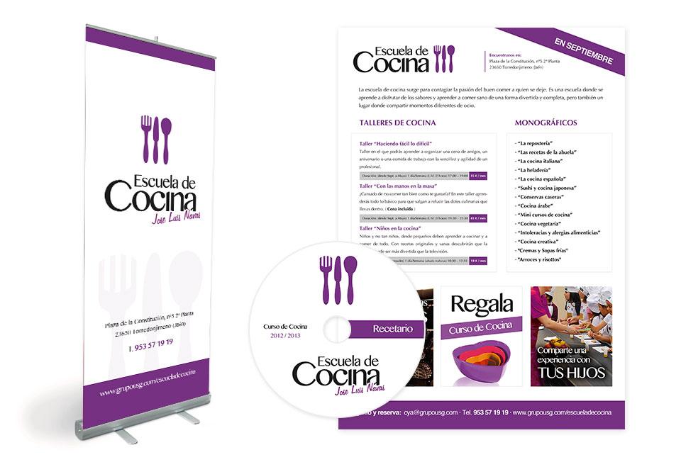 Imagen Corporativa para Escuela de Cocina