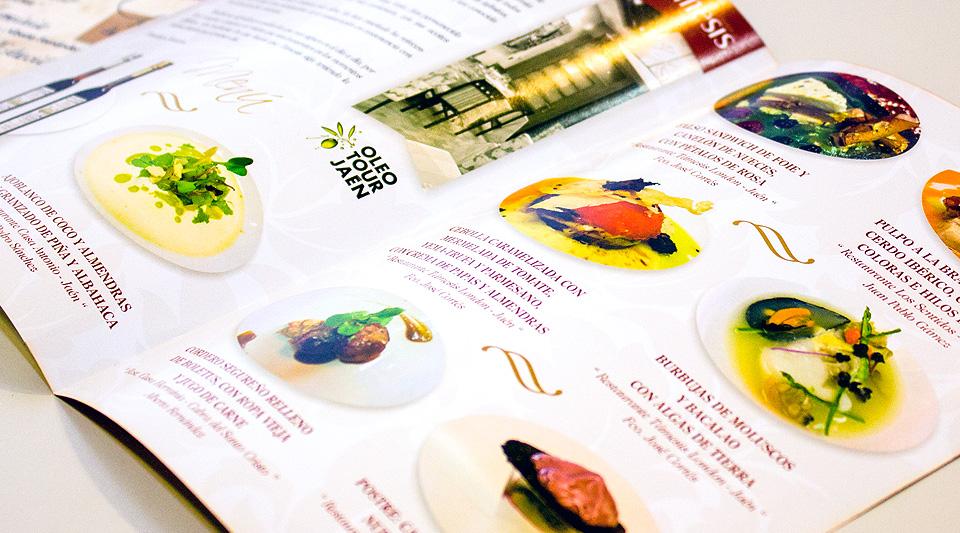 Detalle | Diseño de las VI Jornadas Gastronómicas - Restaurante Támesis