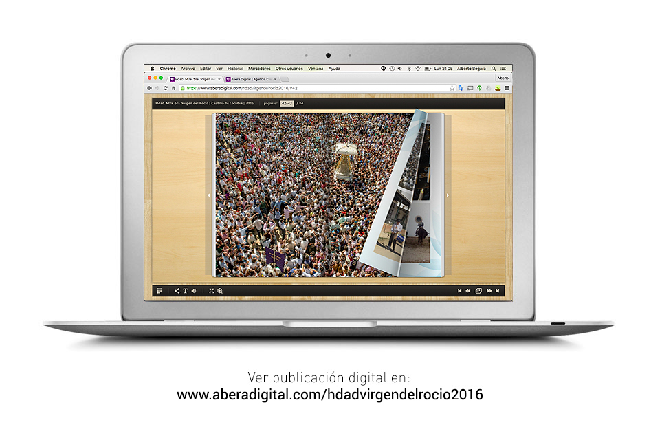 Publicación On-line del Libro Hermandad Virgen del Rocío | Castillo de Locubín