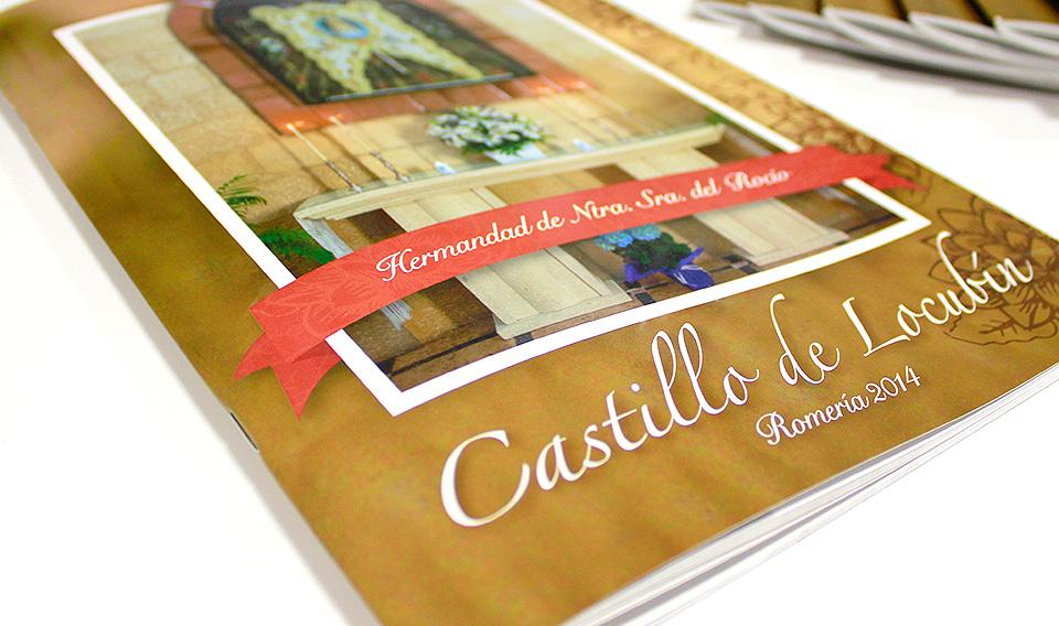 Portada Libro Hermandad Virgen del Rocío | Castillo de Locubín